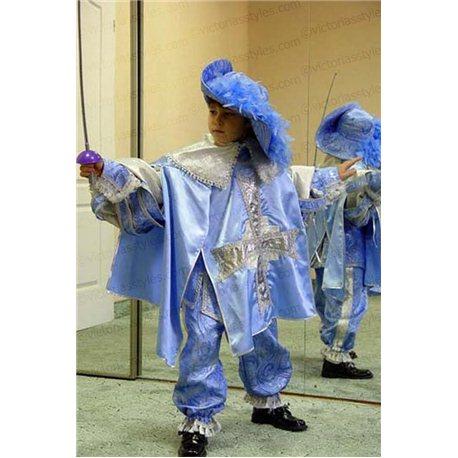 Costum de Carnaval pentru copii Mușchetar 0103
