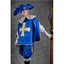 Costum de Carnaval pentru copii Mușchetar 0100
