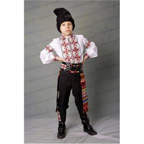 Costum de Carnaval pentru copii Costum național moldovenesc 3630