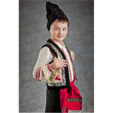 Costum de Carnaval pentru copii Costum național moldovenesc 3166