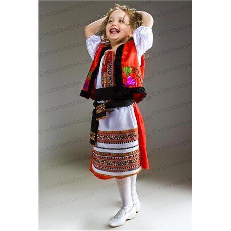 Costum de Carnaval pentru copii Costum național moldovenesc 2786