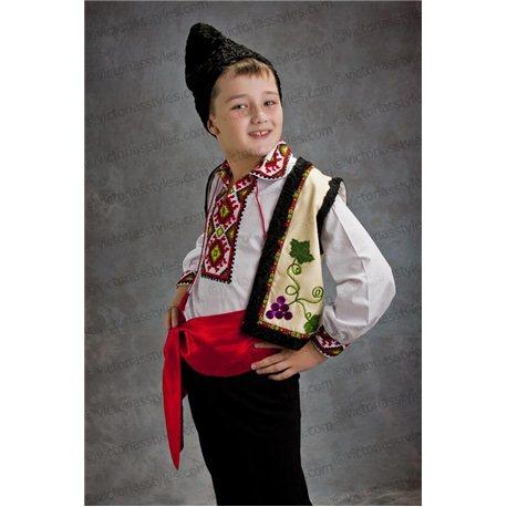 Молдавский национальный костюм на 8 лет 2784