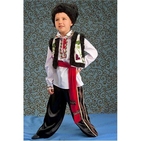 Молдавский национальный костюм для мальчика 4068