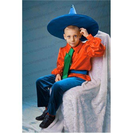 Детский карнавальный и маскарадный костюм Незнайка 3125