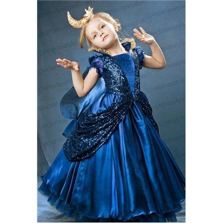Детское карнавальное и маскарадное платье Ночь 3582, 3585, 4637