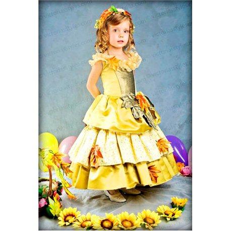 Платье для девочки Осень 2969