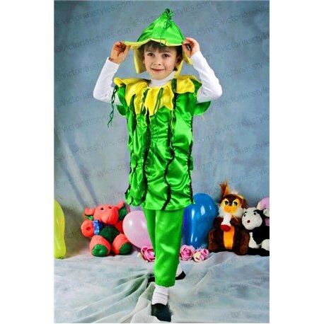 Costum de Carnaval pentru copii Castravete, Dovleac, Clopoțel, Șarpe 2501