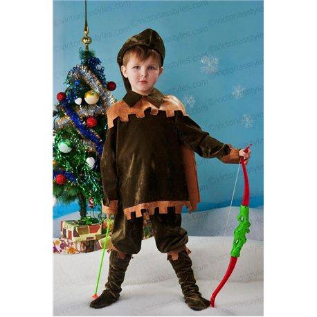 Costum de Carnaval pentru copii Vânător, Robin Hood 2083