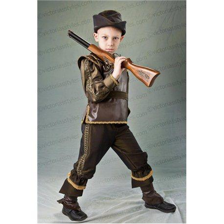 Costum de Carnaval pentru copii Vânător 2512