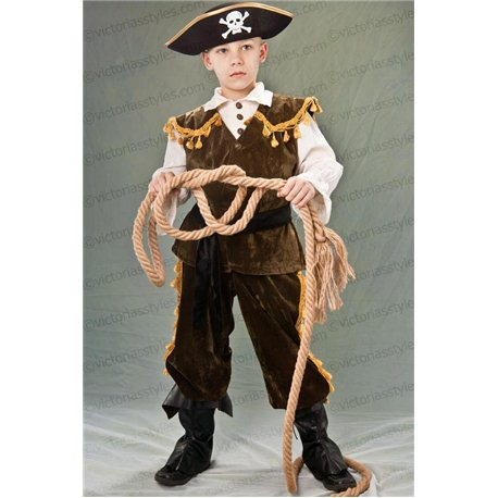 Costum de Carnaval pentru copii Pirat 2117