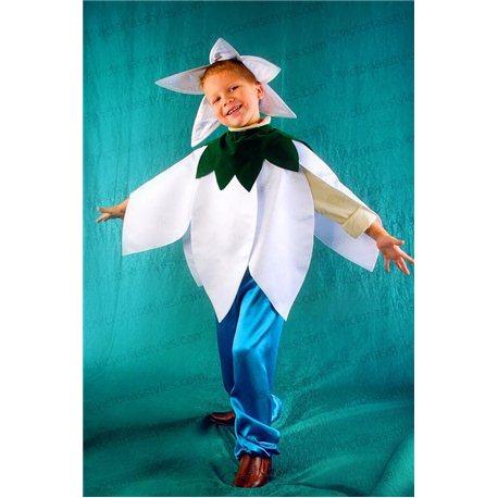 Детский карнавальный и маскарадный костюм Подснежник 0802