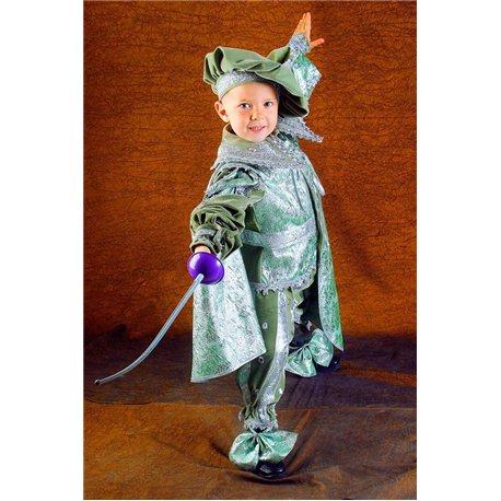 Costum de Carnaval pentru copii Principe, Ghiocel, Elf 0965, 0562, 0873, 0026