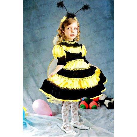 Детский карнавальный и маскарадный Пчёлка - девочка 3346, 3639