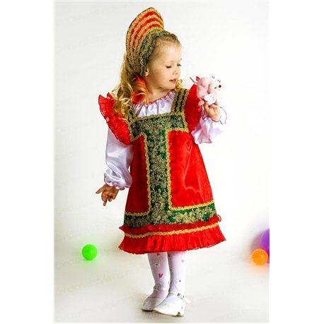 Costum de Carnaval pentru copii Costum național rusesc 2152