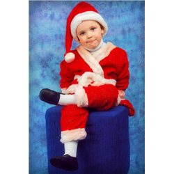 Costum de Carnaval pentru copii Santa Claus 0151, 0152