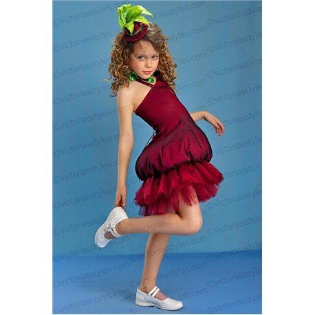 Детский карнавальный и маскарадный костюм Свекла, Фиалка 3874
