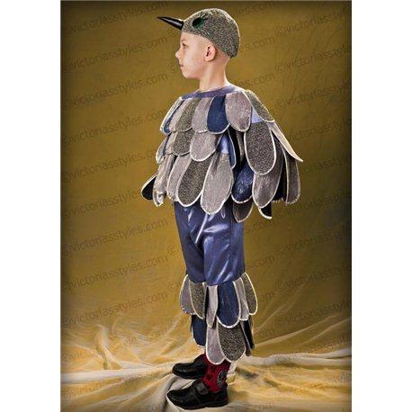 Детский карнавальный и маскарадный костюм Синица, Грач 2774, 0785, 0786