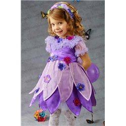 Детский карнавальный и маскарадный костюм Сирень, Фиалка на 3 и 5 лет 3311, 3310
