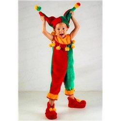 Costum de Carnaval pentru copii Bufon, Măscărici 0552