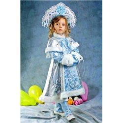 Детский карнавальный и маскарадный костюм Снегурочка на 3-4 года 2943, 2987, 2988