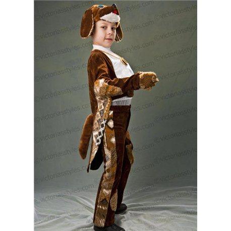 Детский карнавальный и маскарадный костюм Собачка на мальчика 5-6 лет 3360