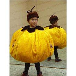 Детский карнавальный и маскарадный костюм Тыква, Колобок, Солнышко 0005