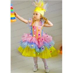 Costum de carnaval pentru copii Confeti, Bomboană 2687,3329