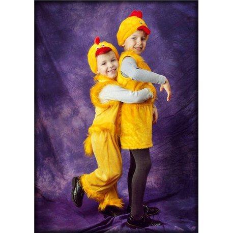 Детский карнавальный костюм Цыплёнок 1783, 0839, 0840, 0841, 0845