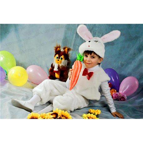 Детский карнавальный костюм Зайчик, Мышонок 0072