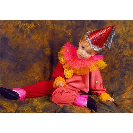 Детский карнавальный костюм Клоун, Шут, Арлекин 0126