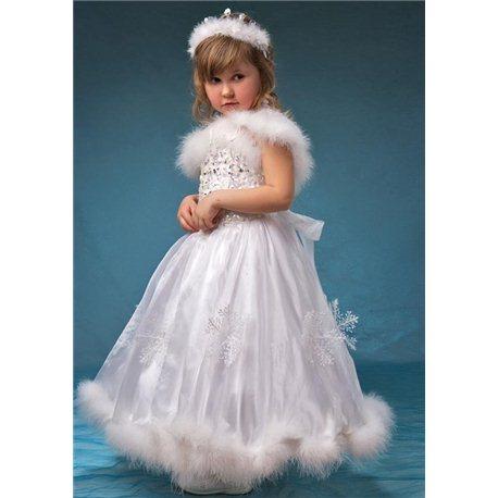 Costum de carnaval pentru copii Regina Zăpezilor, Iarna 3840