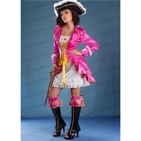 Costum de Carnaval pentru Adulți Pirat 3856