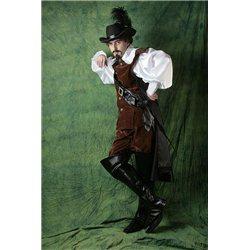 Costum de Carnaval pentru Maturi D'Artagnan 2664