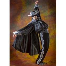 Costum de Carnaval pentru Maturi Zorro 2457, 2456