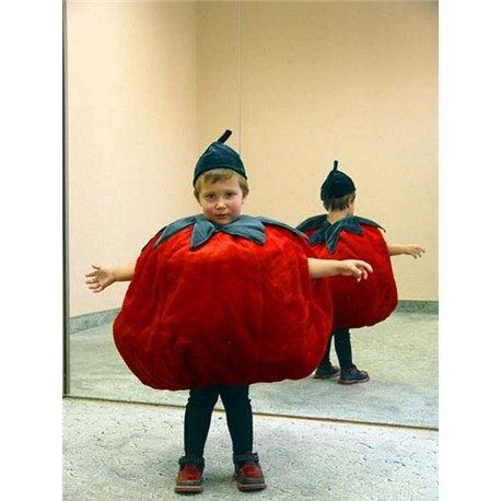 Детский карнавальный и маскарадный костюм Помидор 0004, 0066