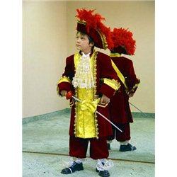 Costum de Carnaval pentru copii Ludovic al XIV-lea 0021