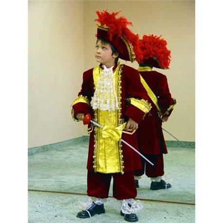 Детский маскарадный костюм Король Людовик XIV 0021