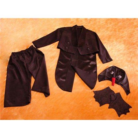 Costum de carnaval pentru copii Frac negru, Pinguin 0029