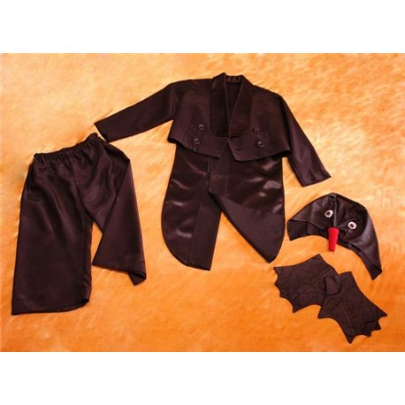 Детский карнавальный и маскарадный костюм Фрак черный, Пингвин 0029
