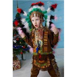 Детский карнавальный костюм Индеец 0047, 0050