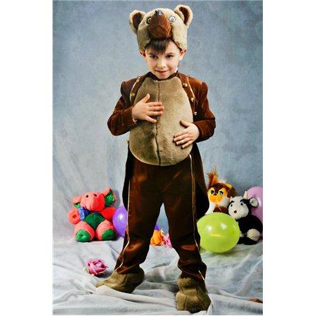 Costum de carnaval pentru copii Ursulet 0065, 0069, 0064