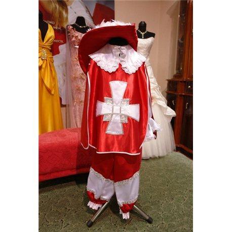 Детские карнавальные и маскарадные костюмы Мушкетер 0084, 0089