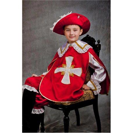 Costum de Carnaval pentru copii Mușchetar 0086, 2569, 0088