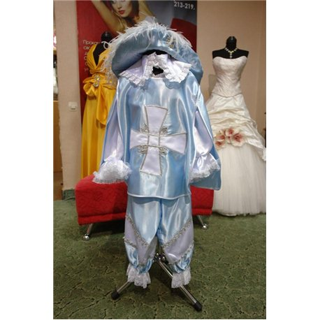 Costum de carnaval pentru copii Muschetar 0090