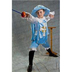 Costum de Carnaval pentru copii Mușchetar 0093, 0094, 2568