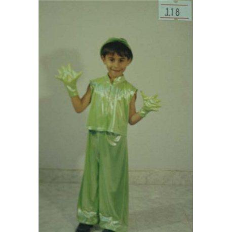 Costum de Carnaval pentru copii Greieras, Broscuta 0118