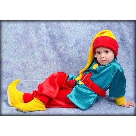 Детский карнавальный и маскарадный костюм Гном 0141, 0140