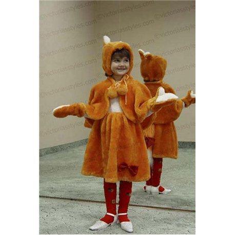 Costum de Carnaval pentru copii Vulpe 0144, 0145