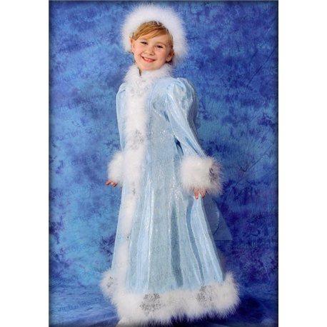Детский карнавальный и маскарадный костюм Снегурочка 0183
