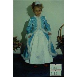 Детские карнавальные и маскарадные костюмы Снегурочка 0184,0185